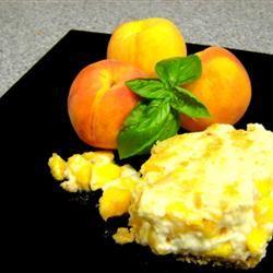 Fresh Peach Dessert Cindy Capps Lepp