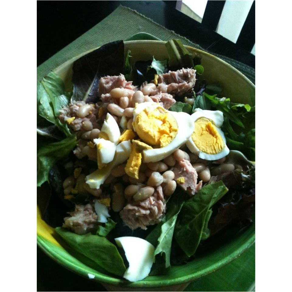 Nicoise-Style Tuna Salad With White Beans & Olives Jamie Justice Yost