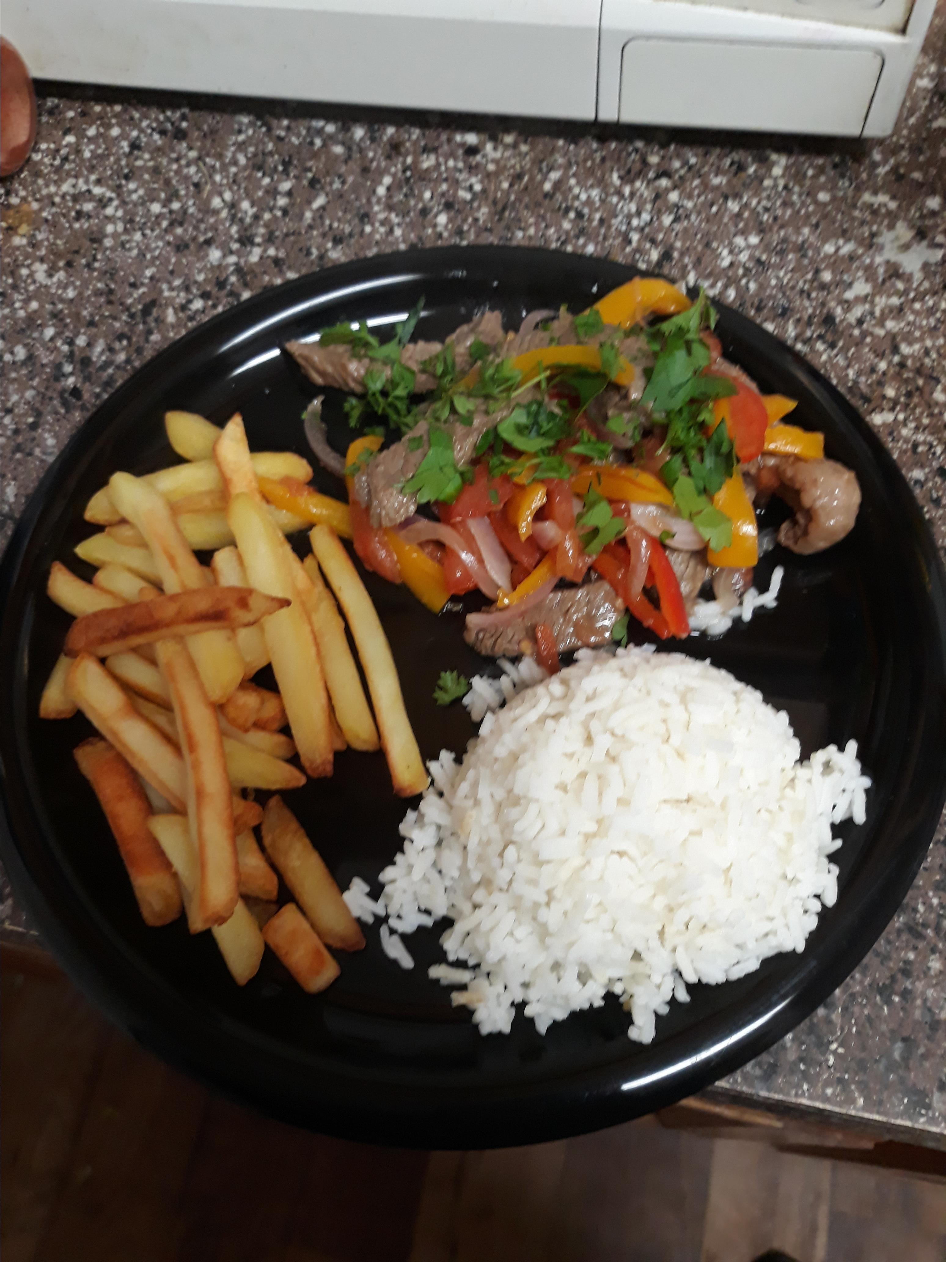 Peruvian Arroz con Pollo (Peruvian Rice and Chicken) Mamabear007