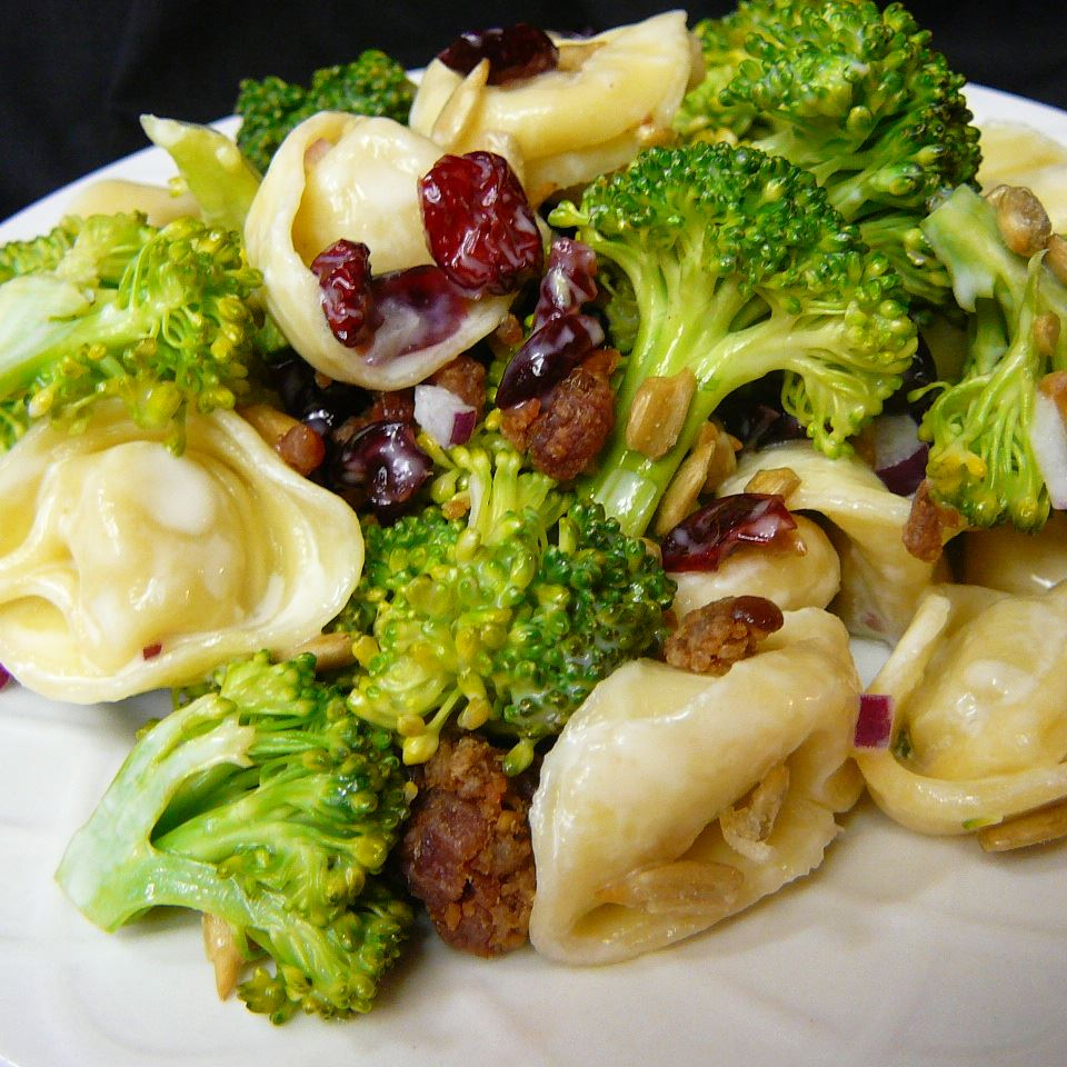 Broccoli and Tortellini Salad Molly