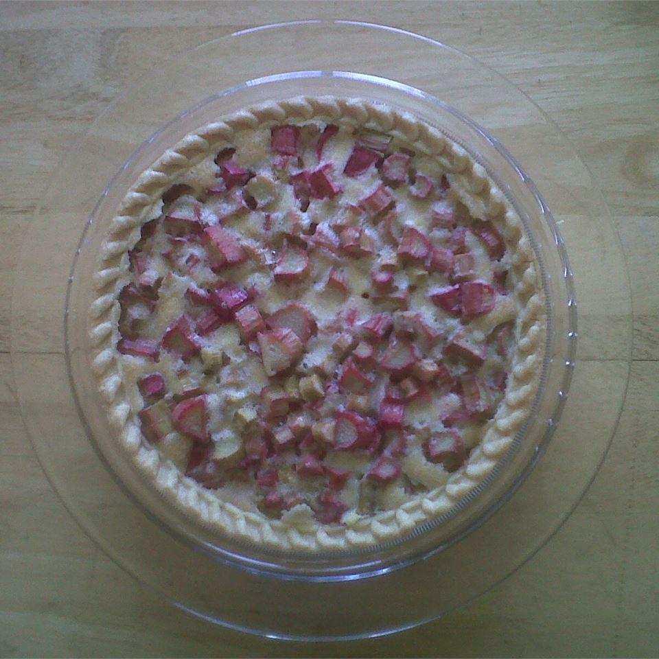 Rhubarb Pie - Single Crust Su
