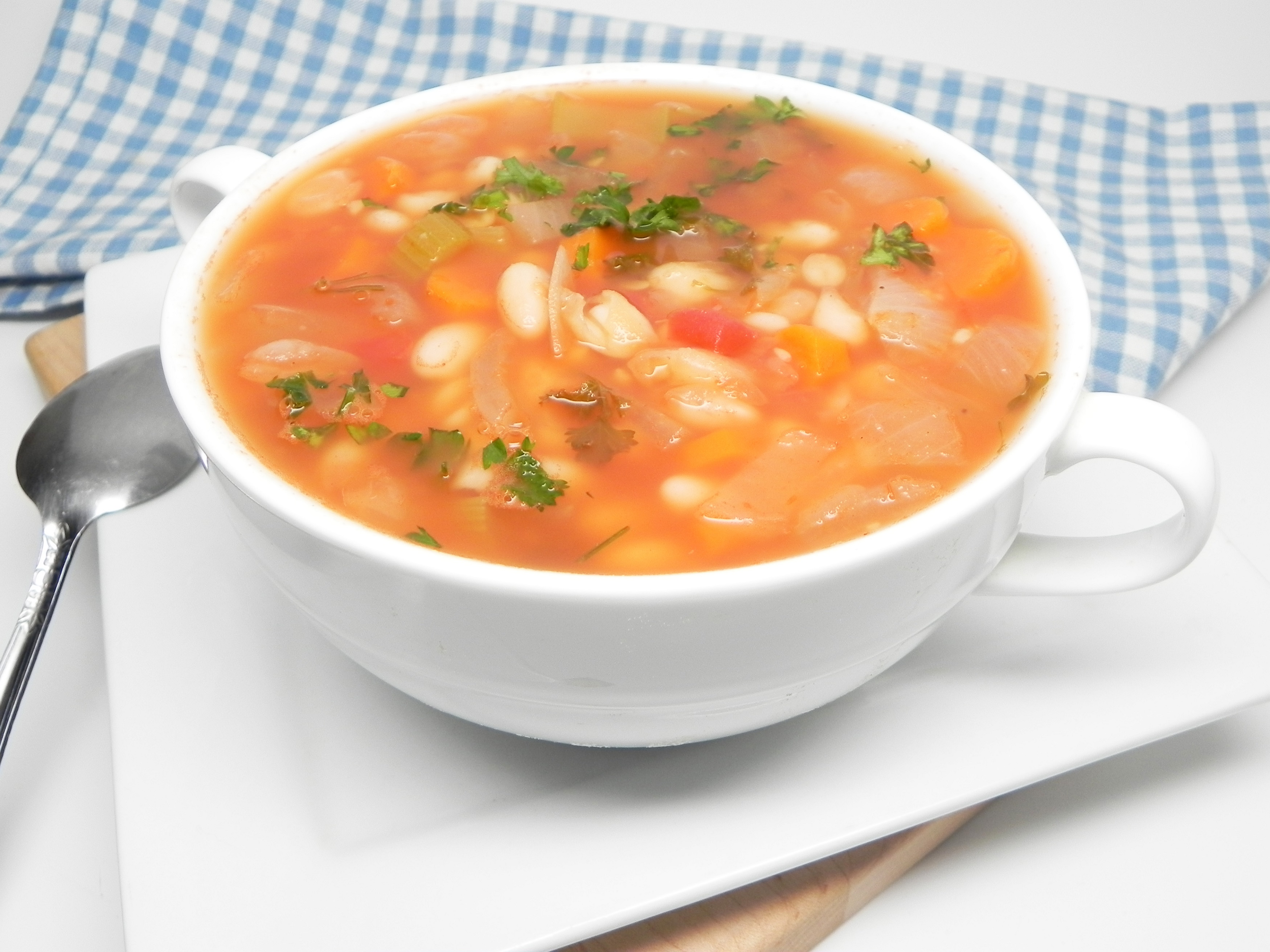 White Bean Soup for a Crowd