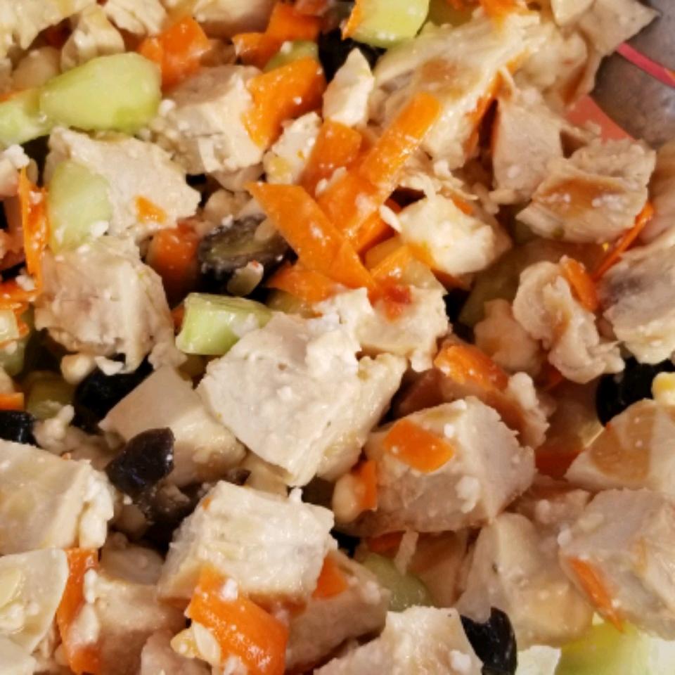 Greek Chicken Salad Frances Pisko