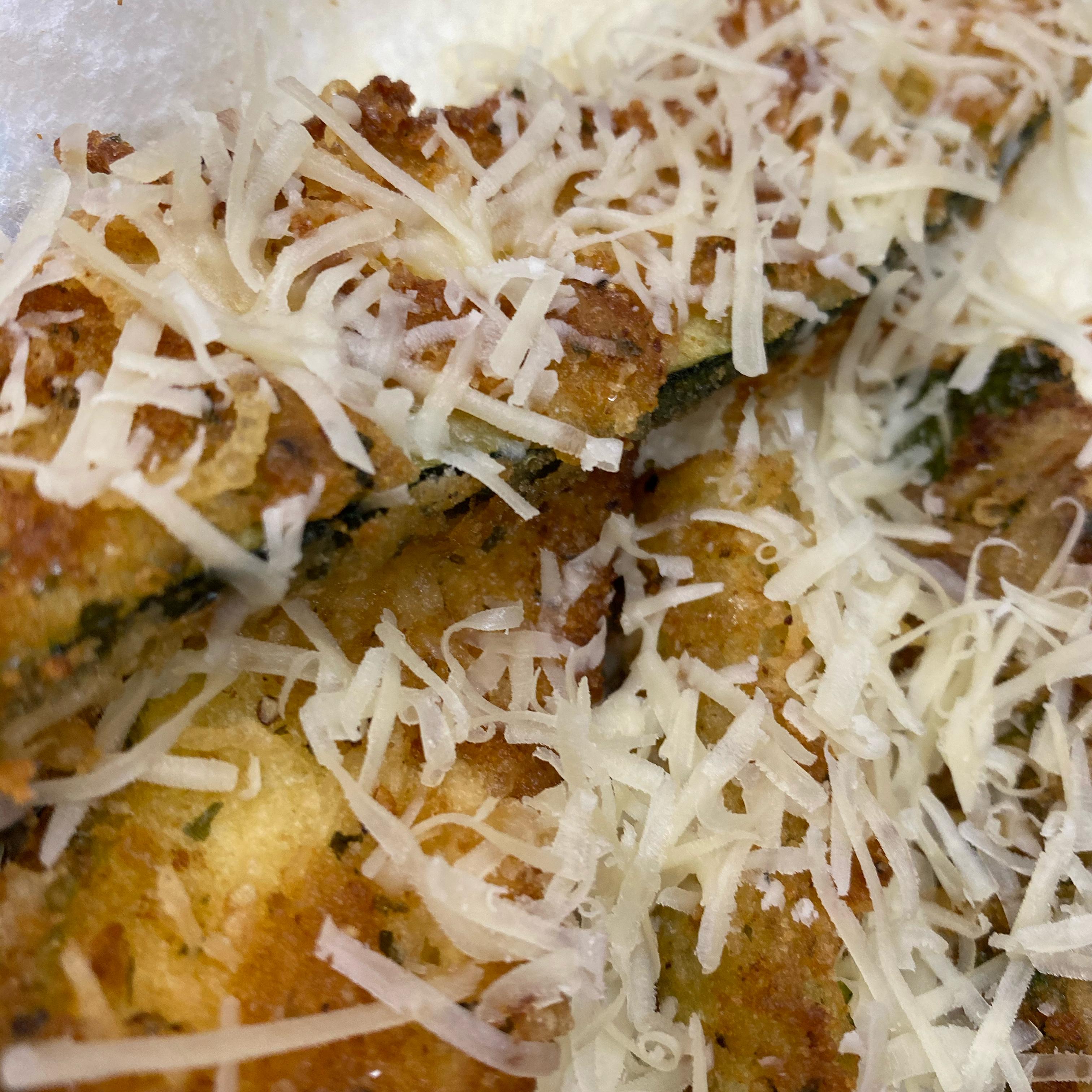 Parmesan Fried Zucchini metalbabe06