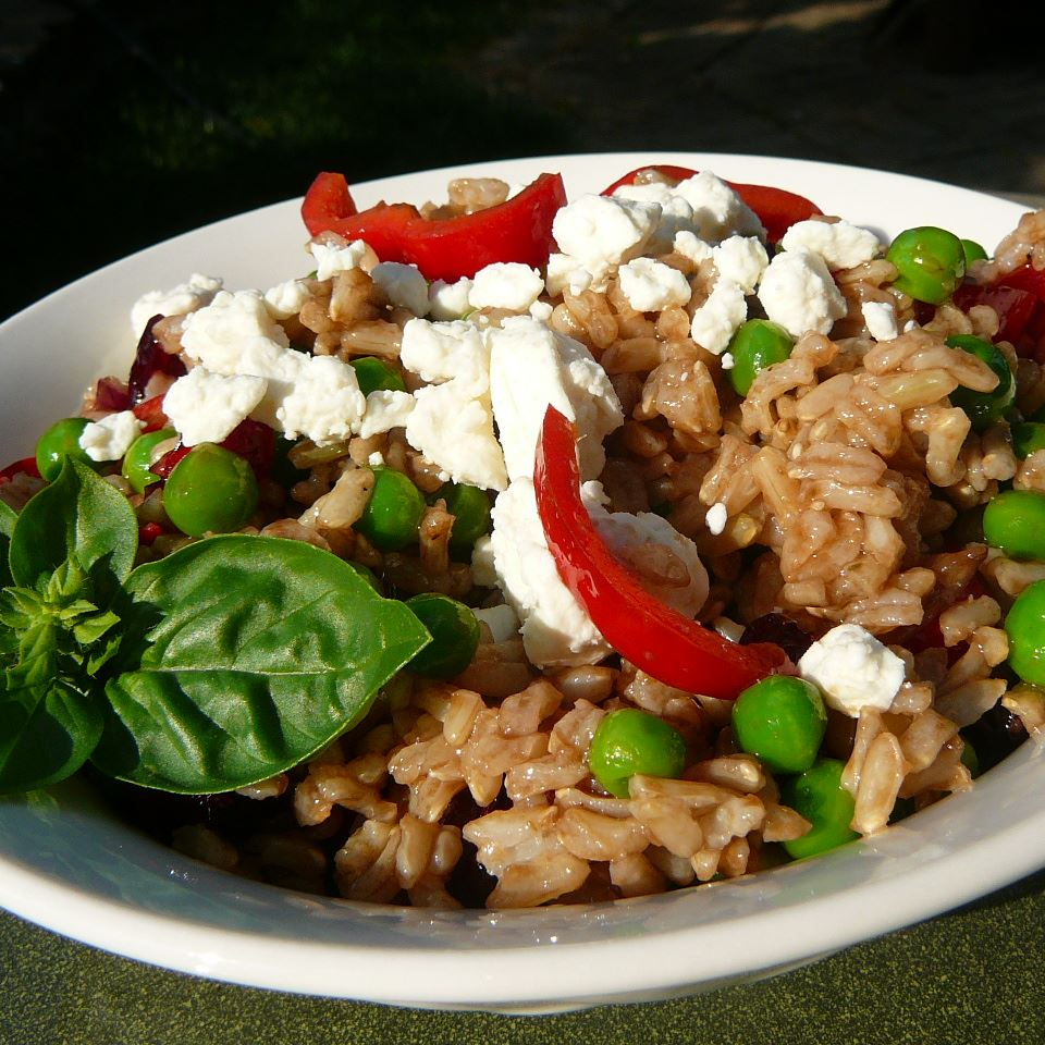 Mediterranean Brown Rice Salad Molly