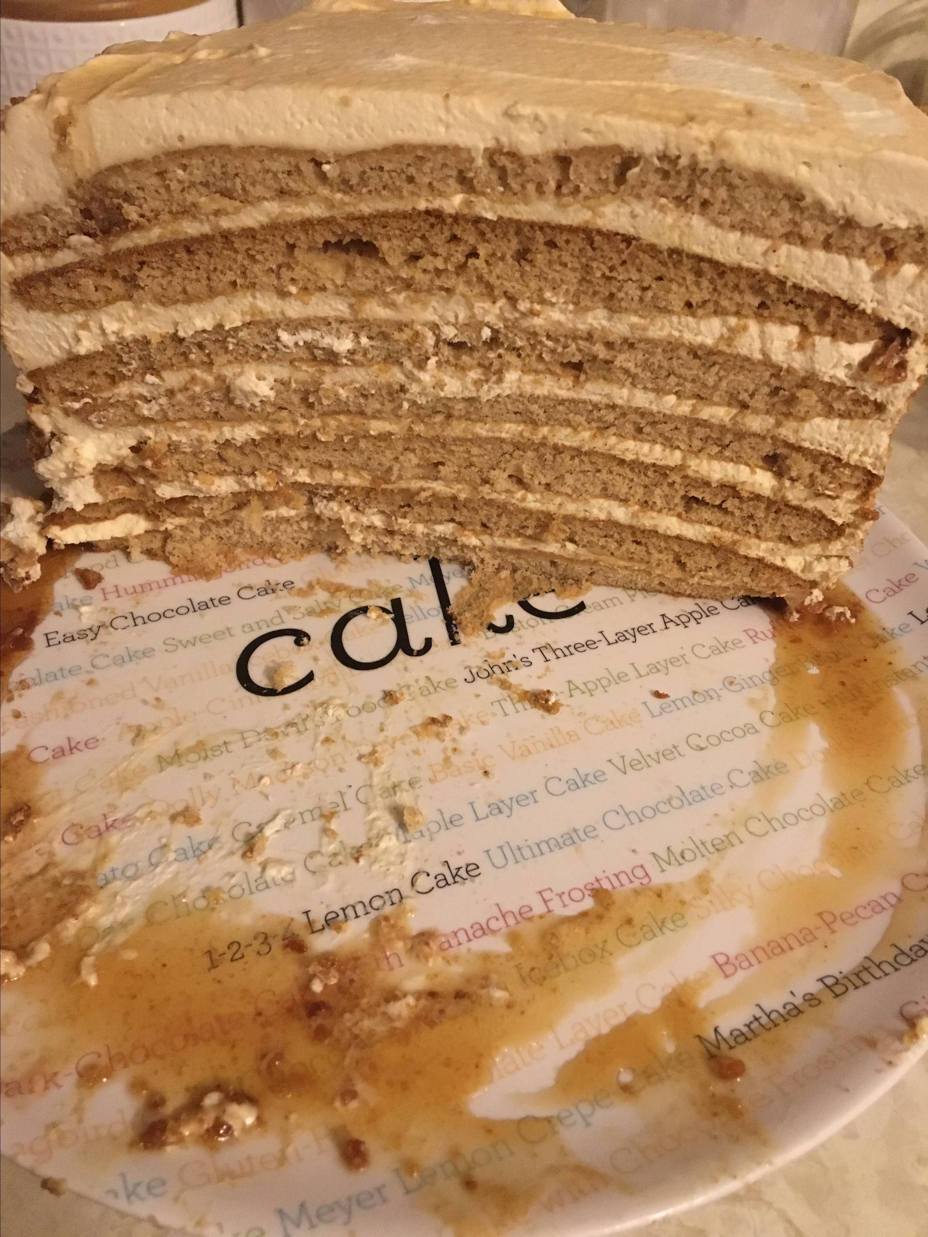 Russian Honey Cake Alyssa Vakulchik