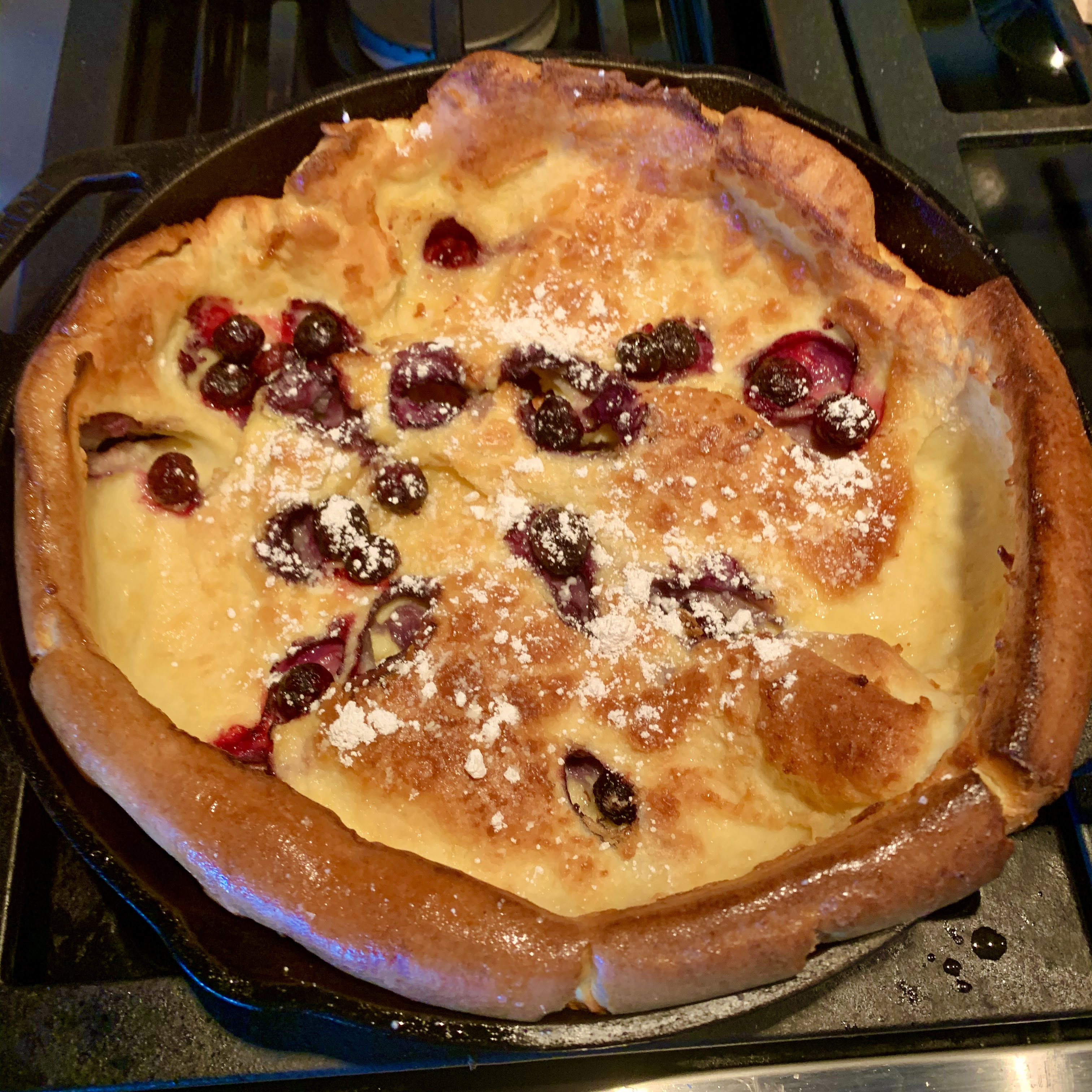 Chef John's Blueberry Dutch Baby RAL