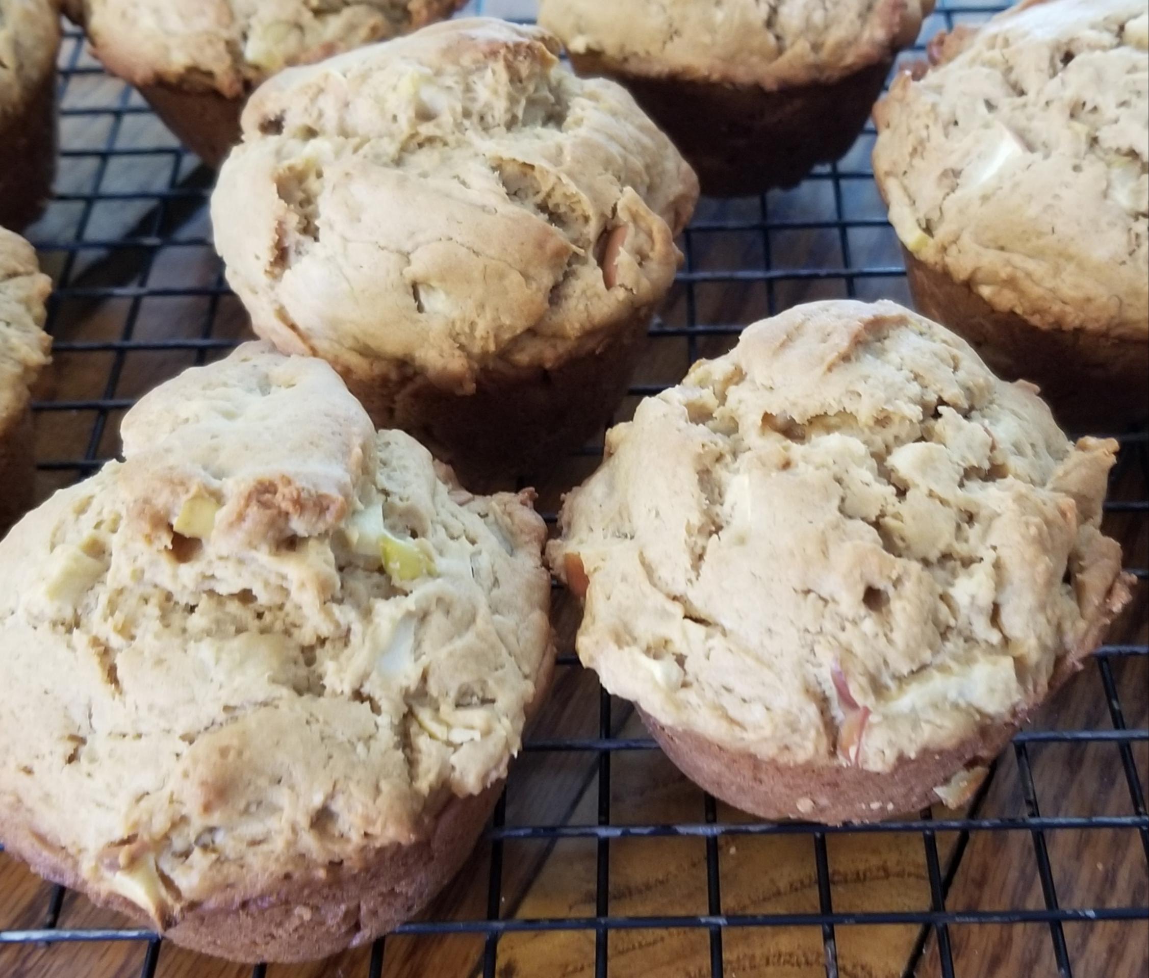 Yummy Peanut Butter Apple Muffins Brenda Righter