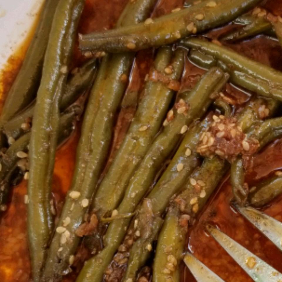 Fresh Green Beans with Heaven Sauce Frances Pisko