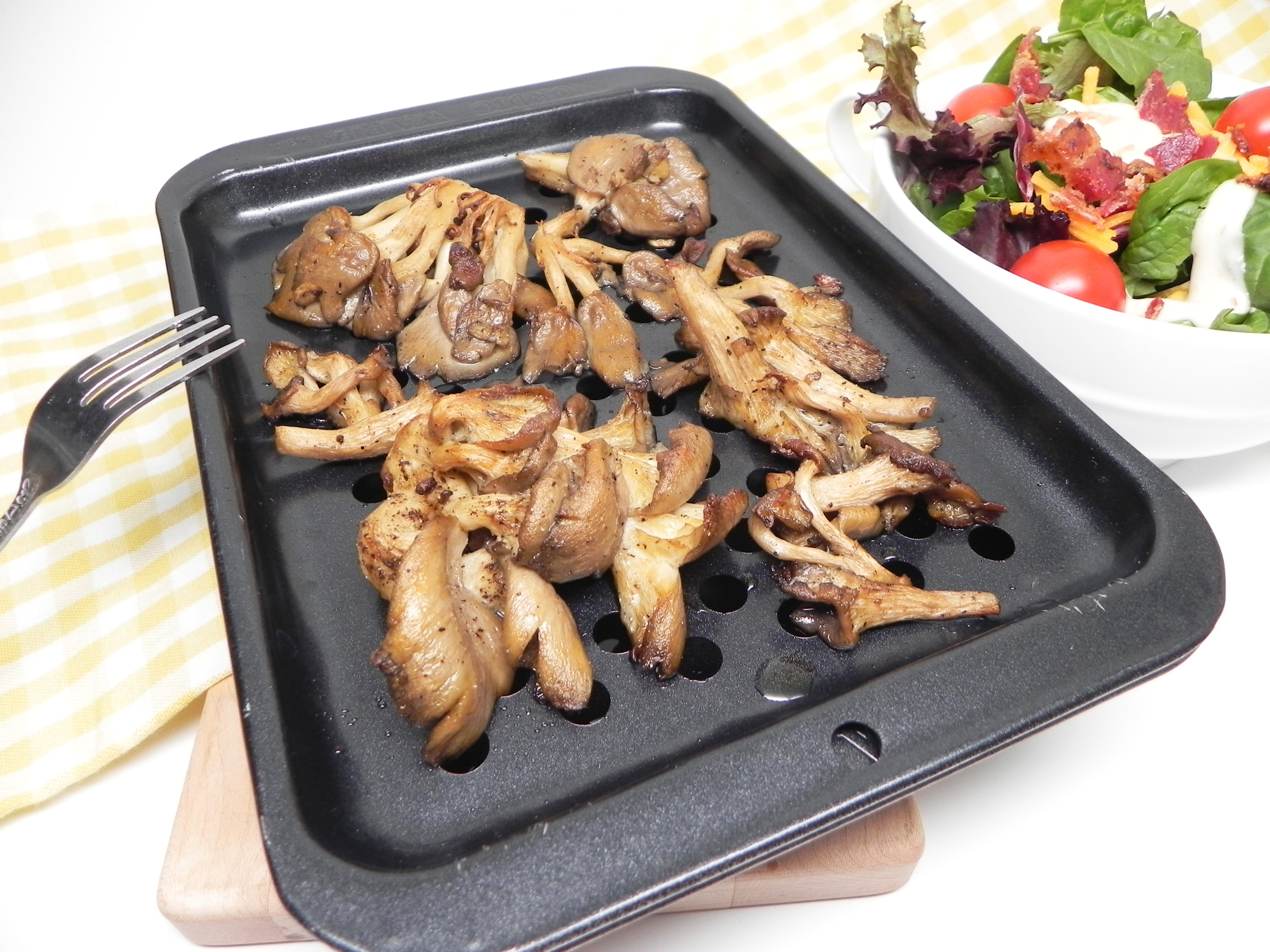 Easy Roasted Oyster Mushrooms