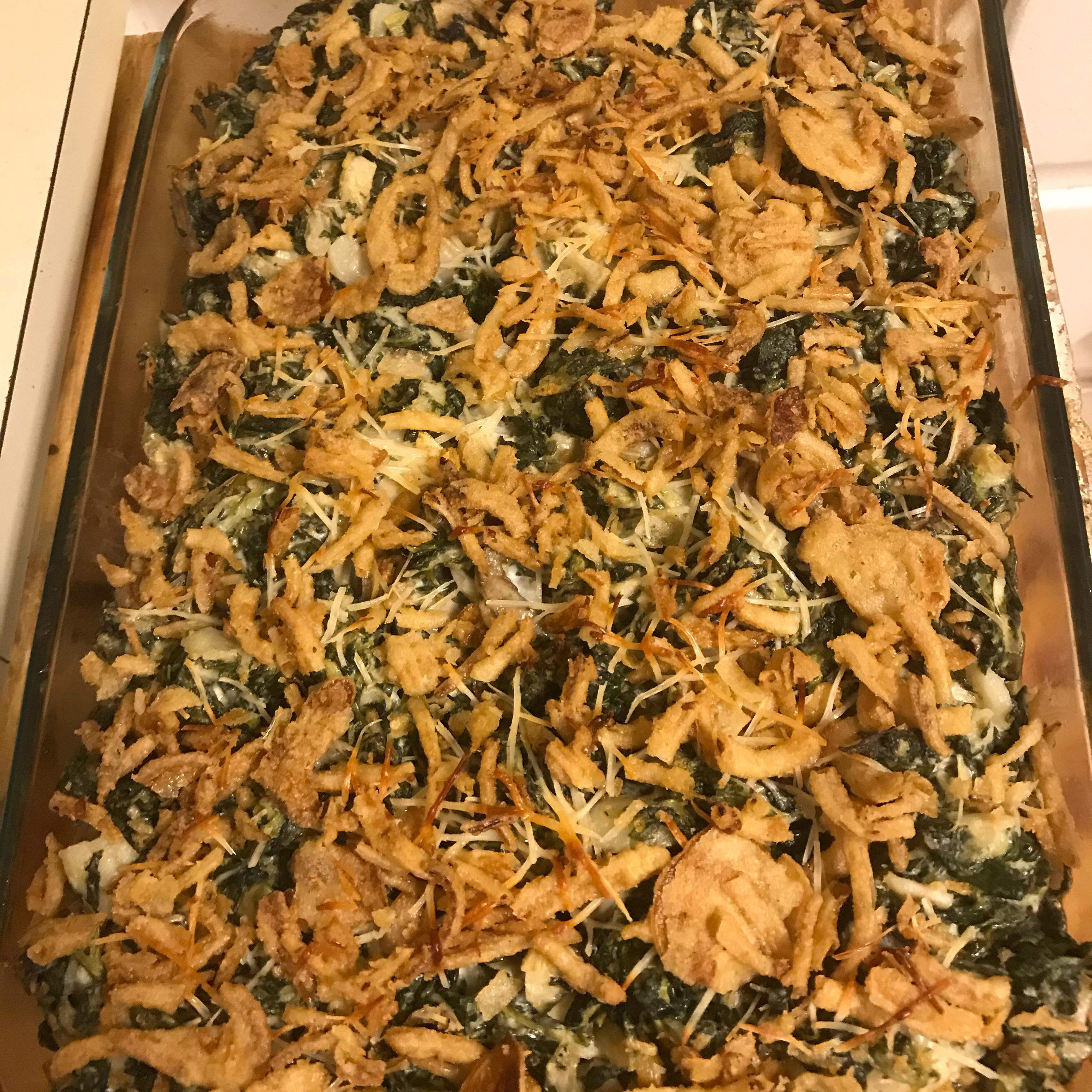 Amazing Spinach Artichoke Casserole Jennifer