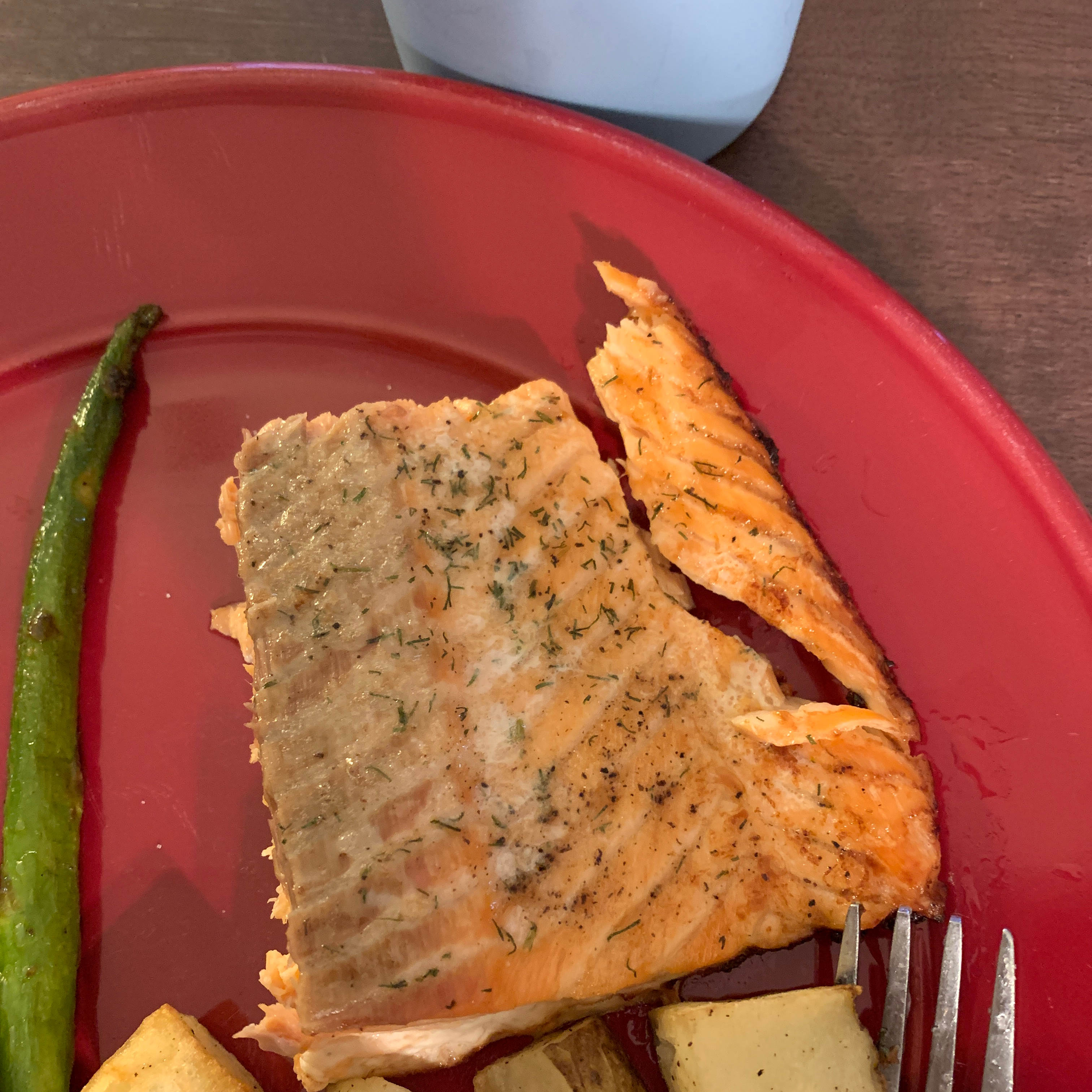 Salmon with Dill Emily MacMurray