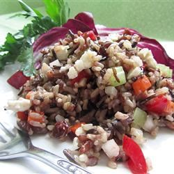 Mediterranean Brown Rice Salad Linda