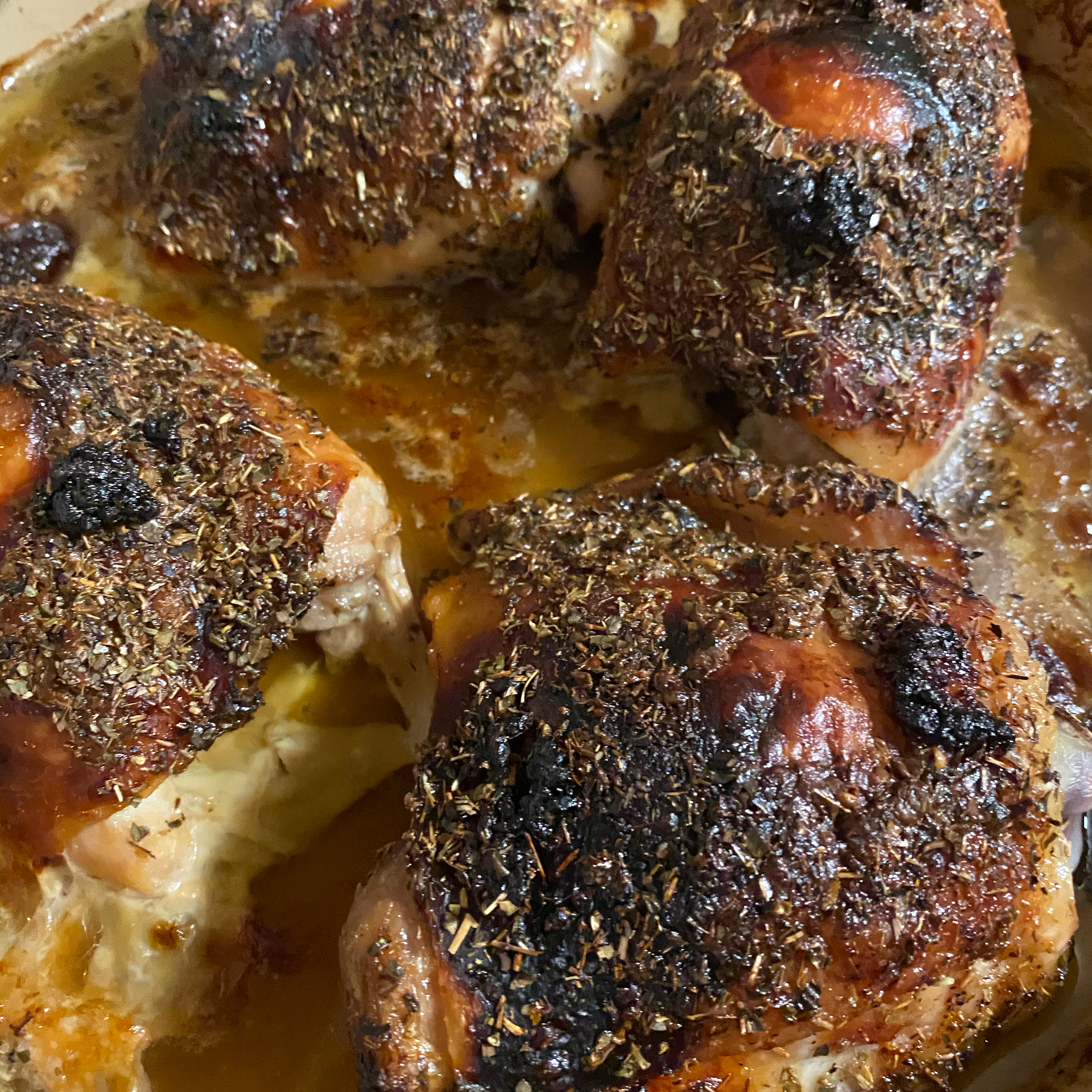 Garlic-Brown Sugar Chicken Thighs