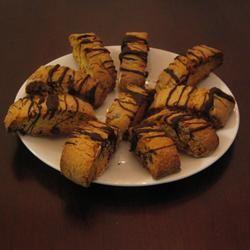Chocolate Nut Biscotti mrs smiff