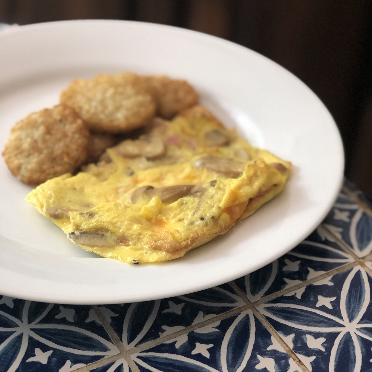 Air Fryer Frittata Holiday Baker