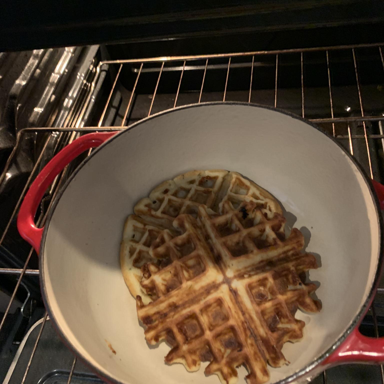 Savory Herb Waffles Michael Cabbie Caban