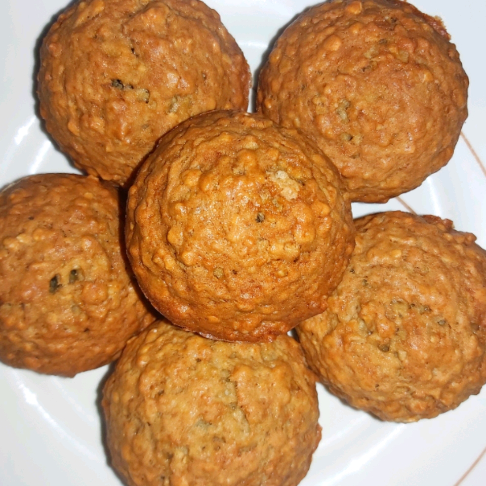 Emily's Famous Banana Oat Muffins