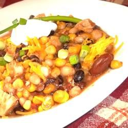 Chicken and Corn Chili Alida Rovetto