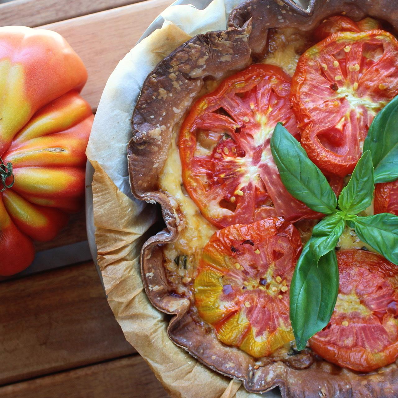 Amish Tomato Pie Buckwheat Queen