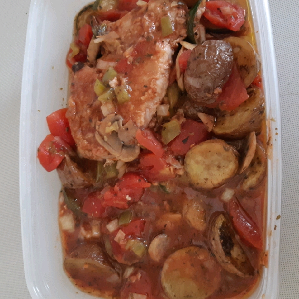 Creole Pork Chops Holly Carr