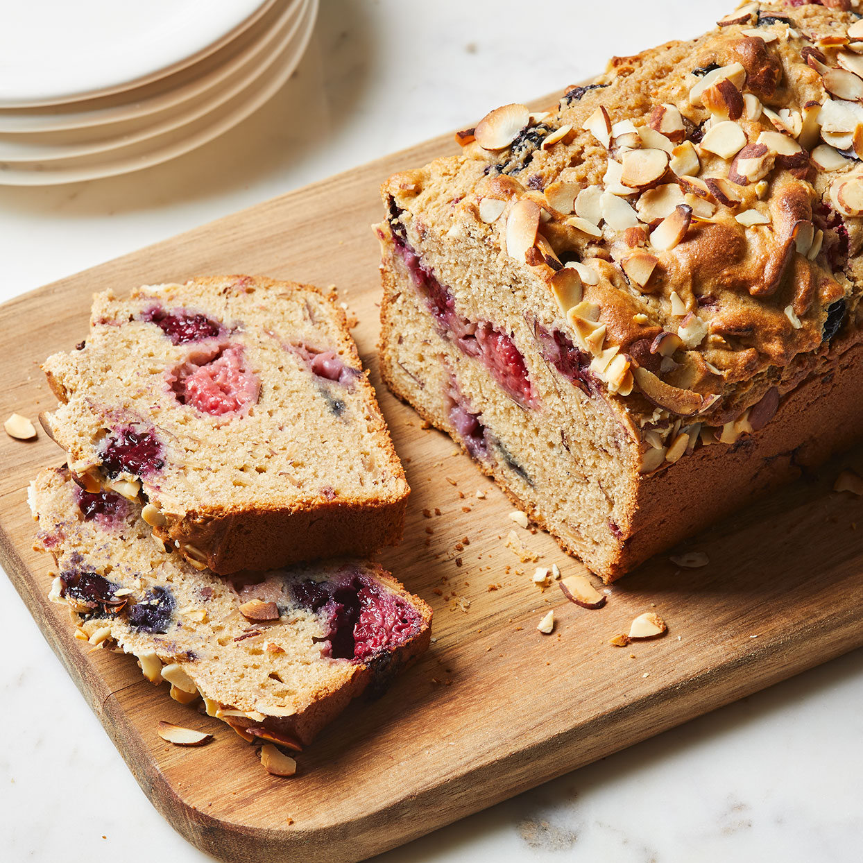 Berry-Almond Quick Bread Trusted Brands