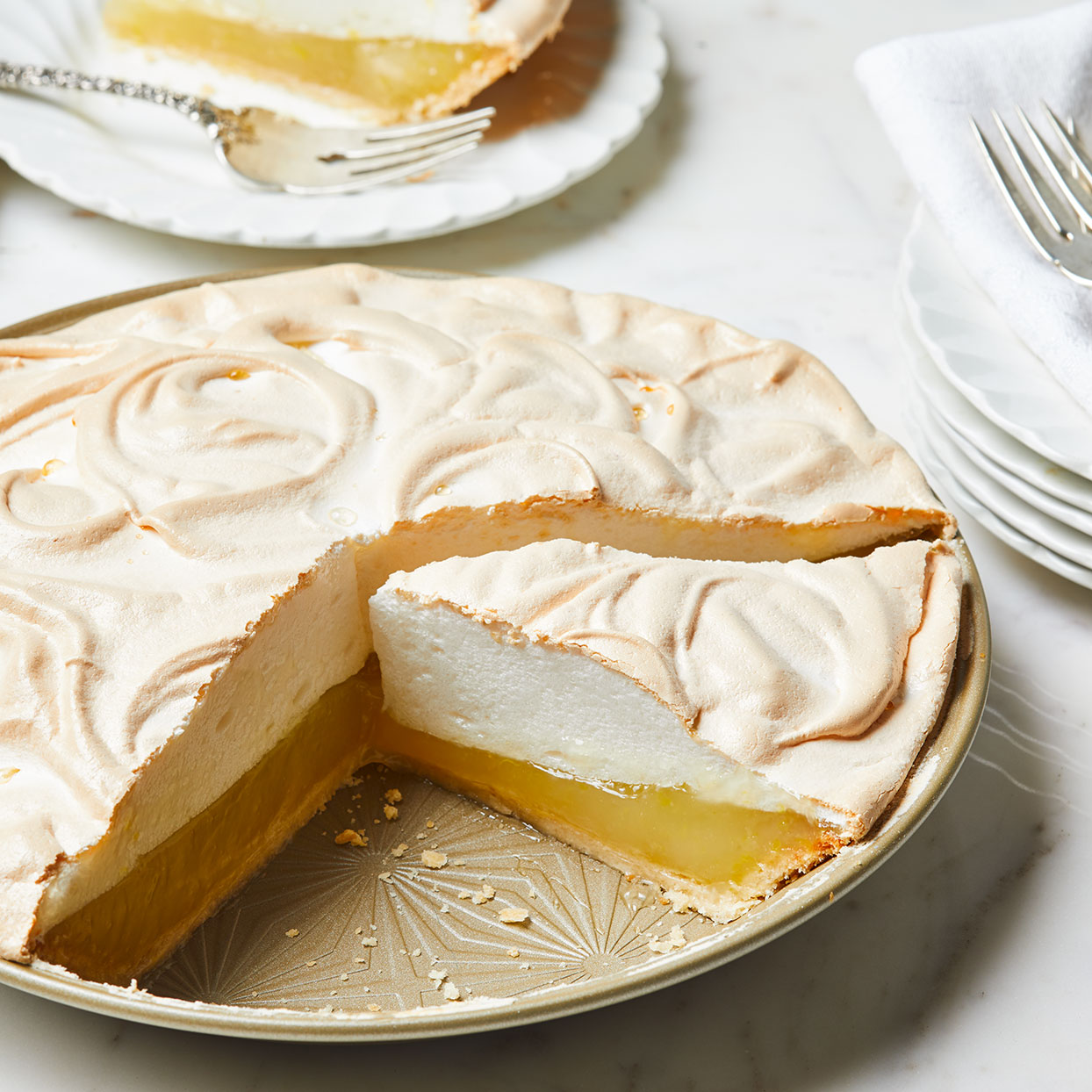 Light Lemon Meringue Pie Trusted Brands