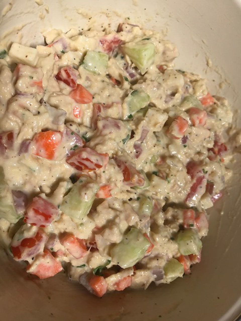 Stacy's Crunchy Tuna Salad