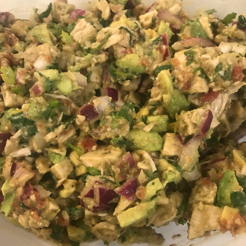 Avocado Chicken Lettuce Wraps rachaelk