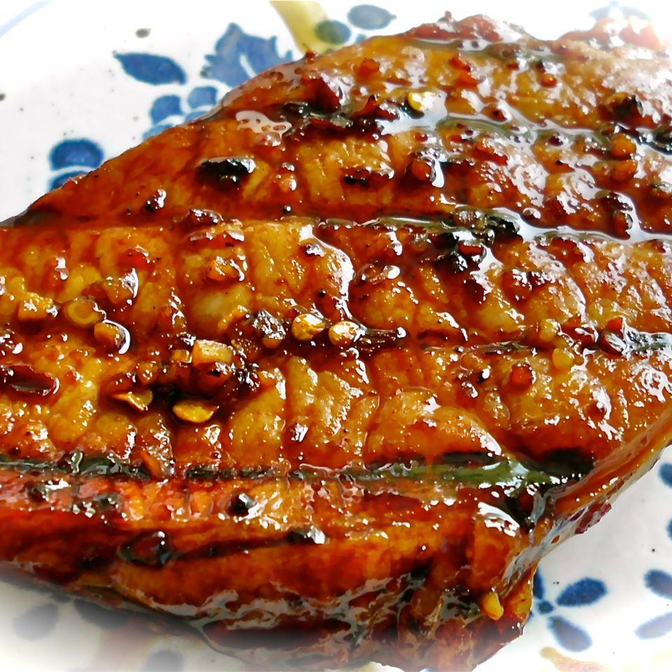 Honey-Soy Pork Chops from the Bradshaw Family