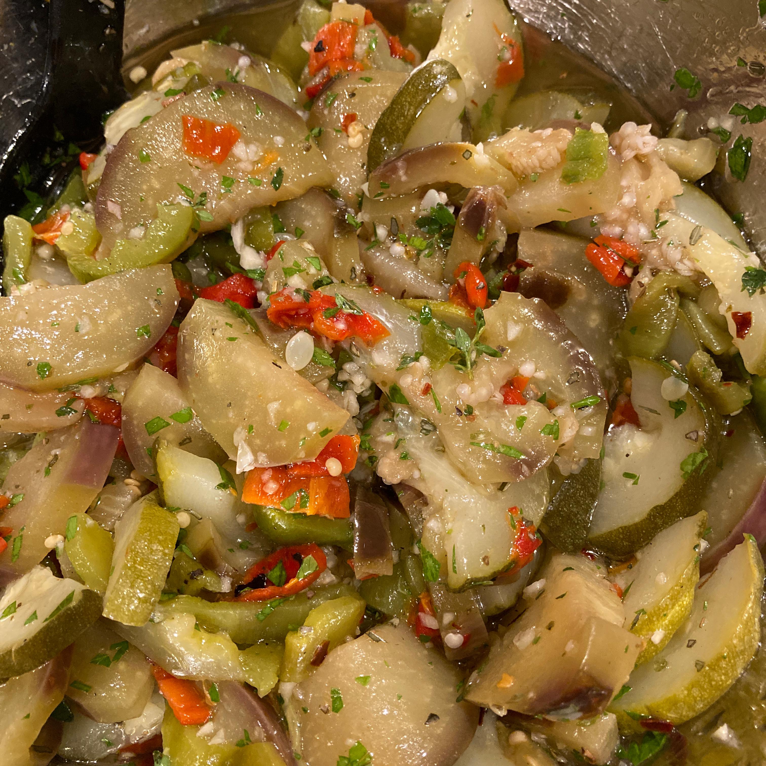 Chef John's Eggplant Escabeche CKay