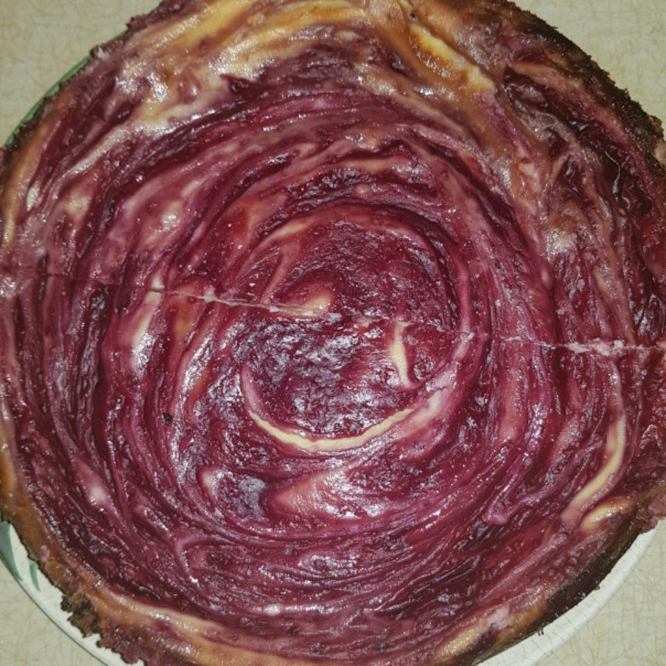 White Chocolate Raspberry Cheesecake tasha