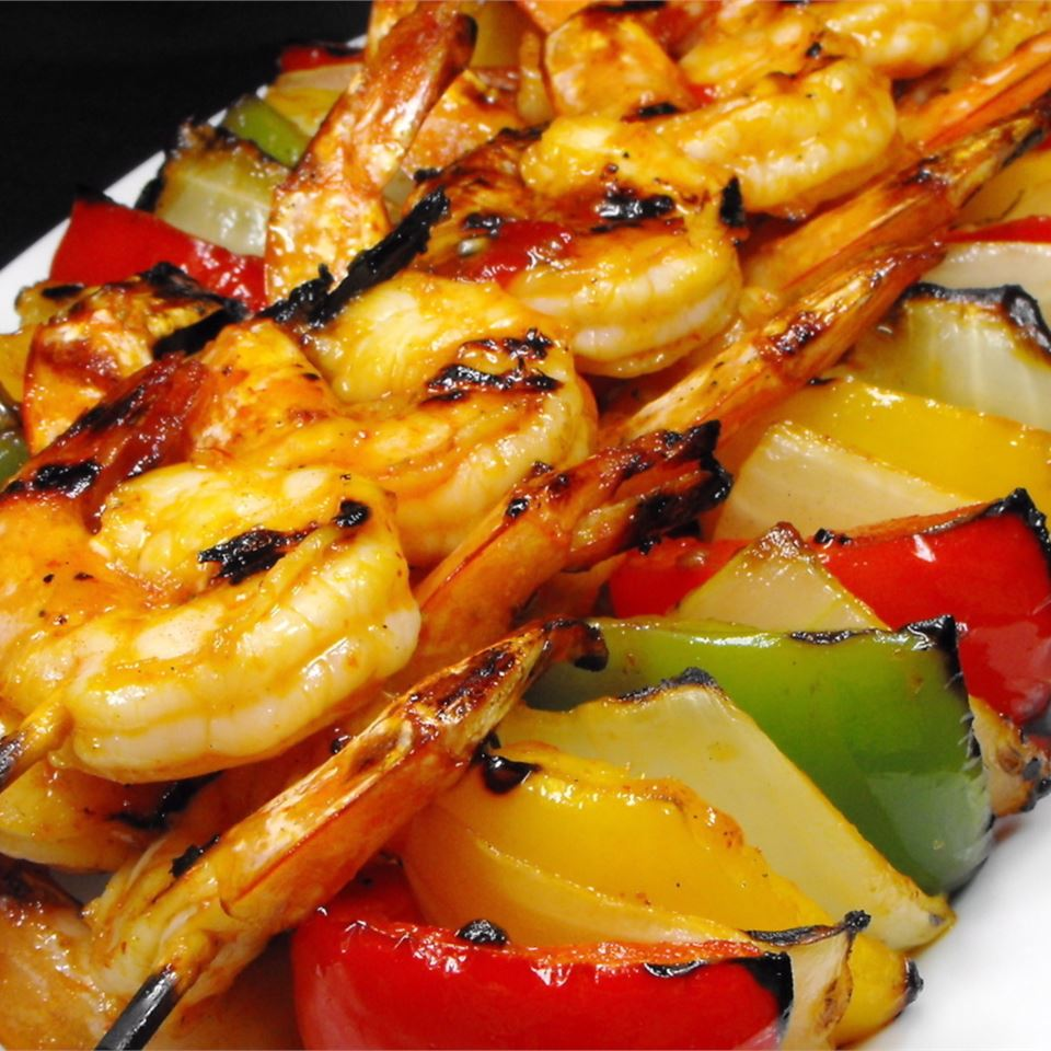 Amazing Spicy Grilled Shrimp bellepepper