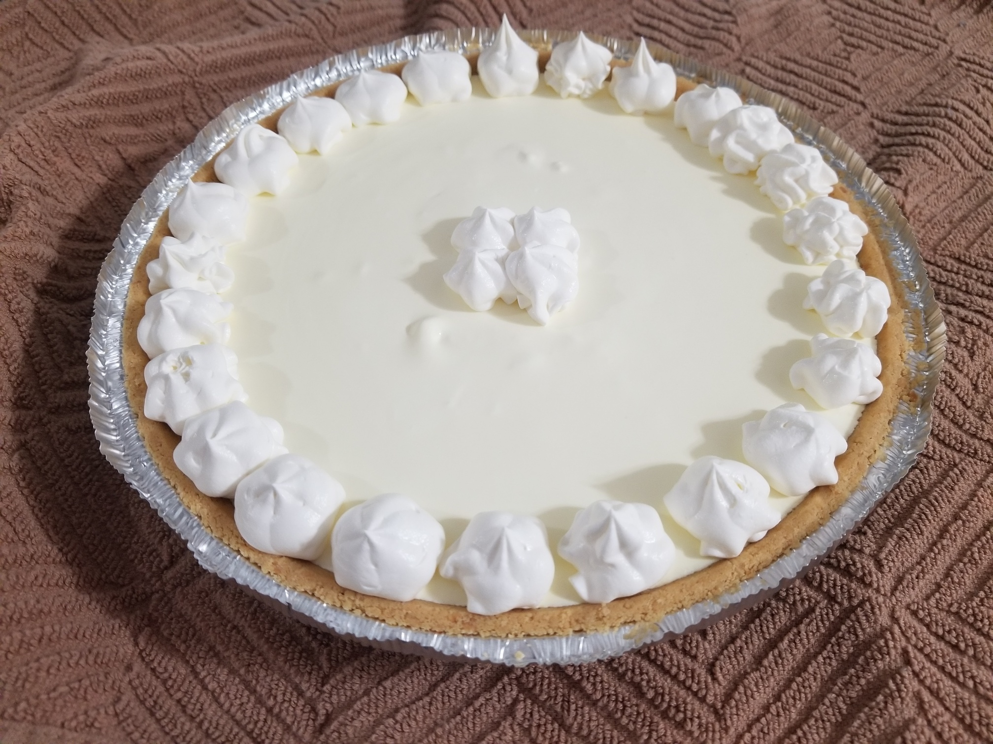 Easy Lemon Chiffon Pie