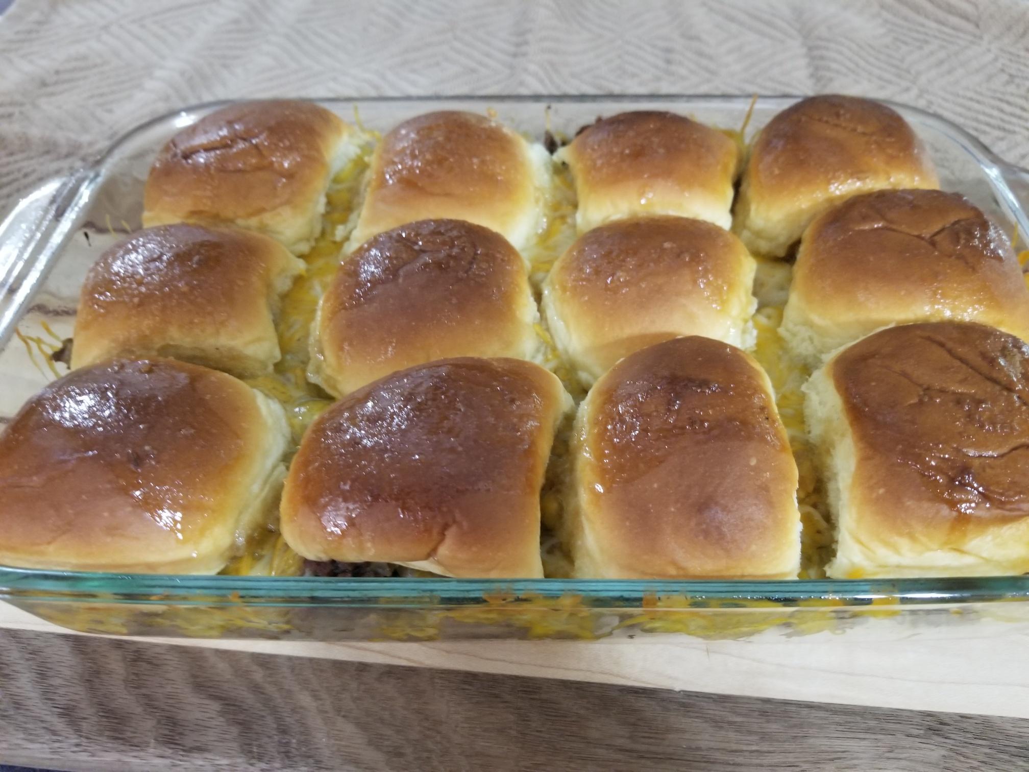 Cheeseburger Sliders Paula Baker