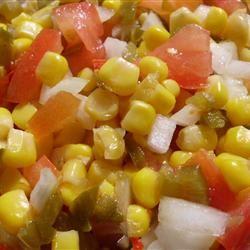 Summer Anytime Crisp Corn Salad Occasional Cooker