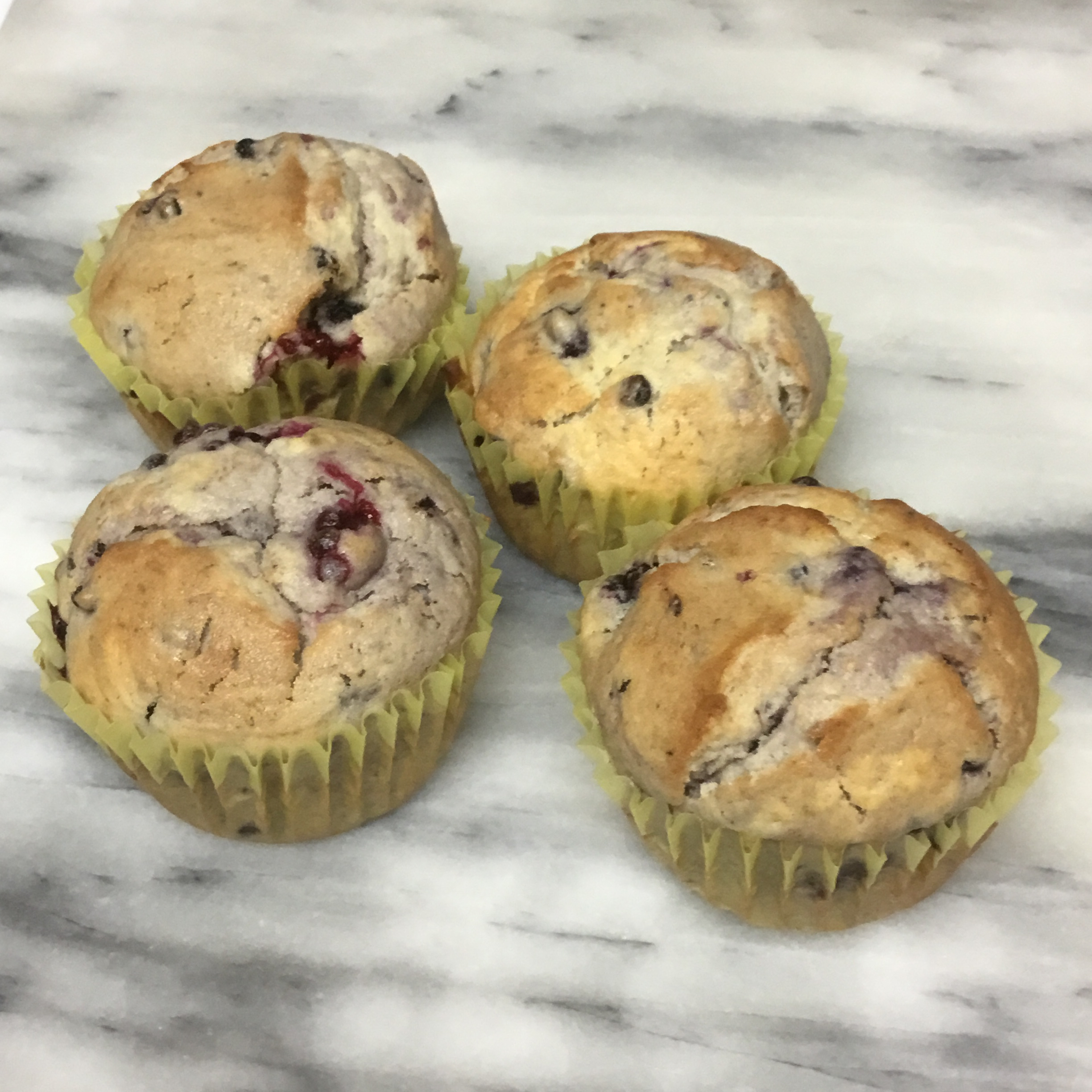 Delicious Blackberry Muffins