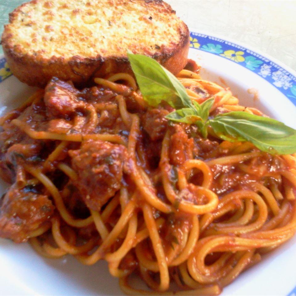 Mom's Spaghetti Sauce Patty Cakes