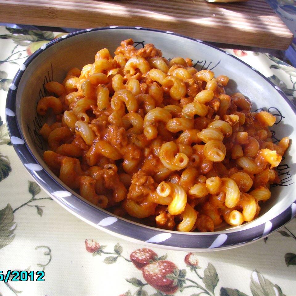spicy sausage ragu