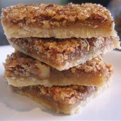 Pecan Pie Bars I FoodFan