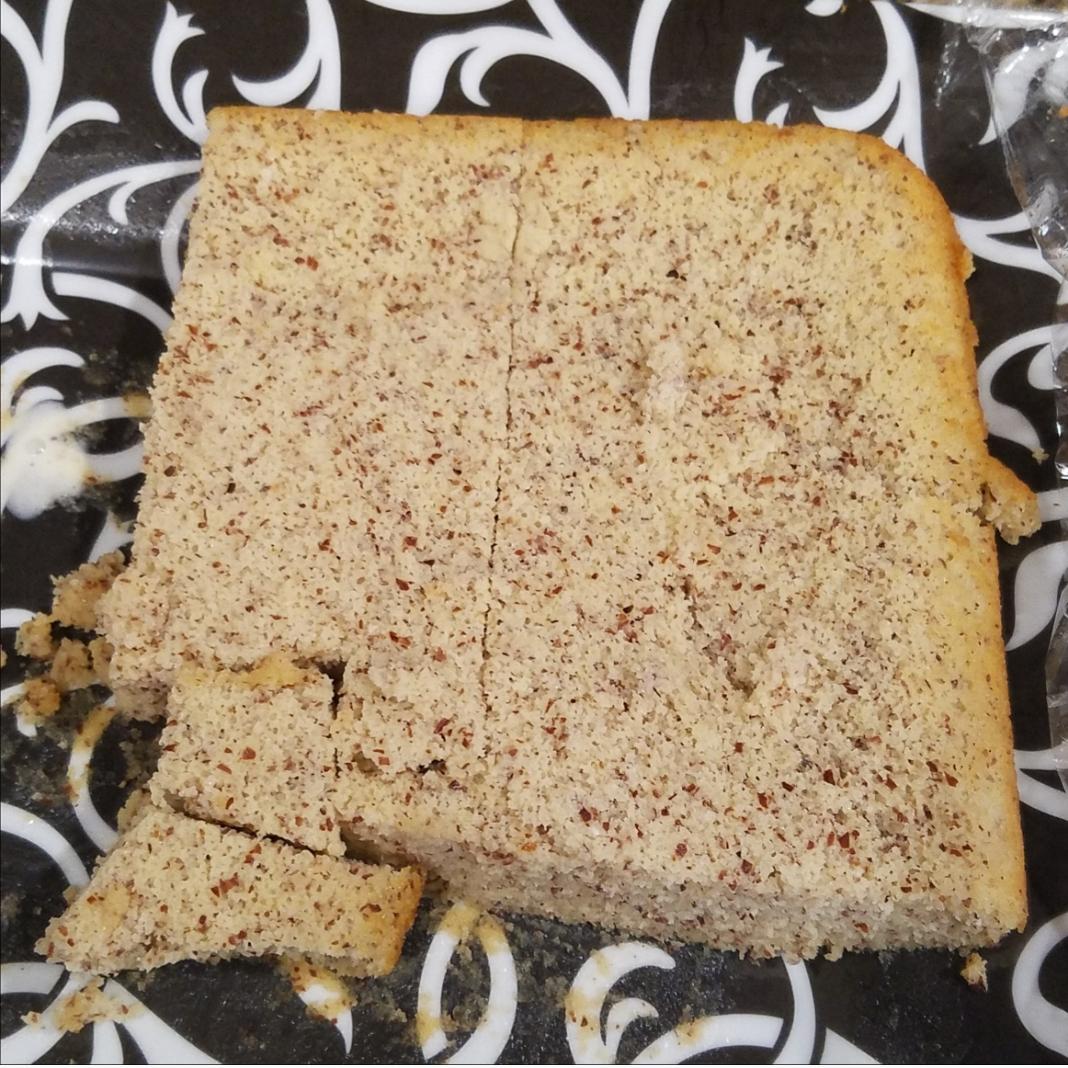 Low-Carb Yellow Cake nora