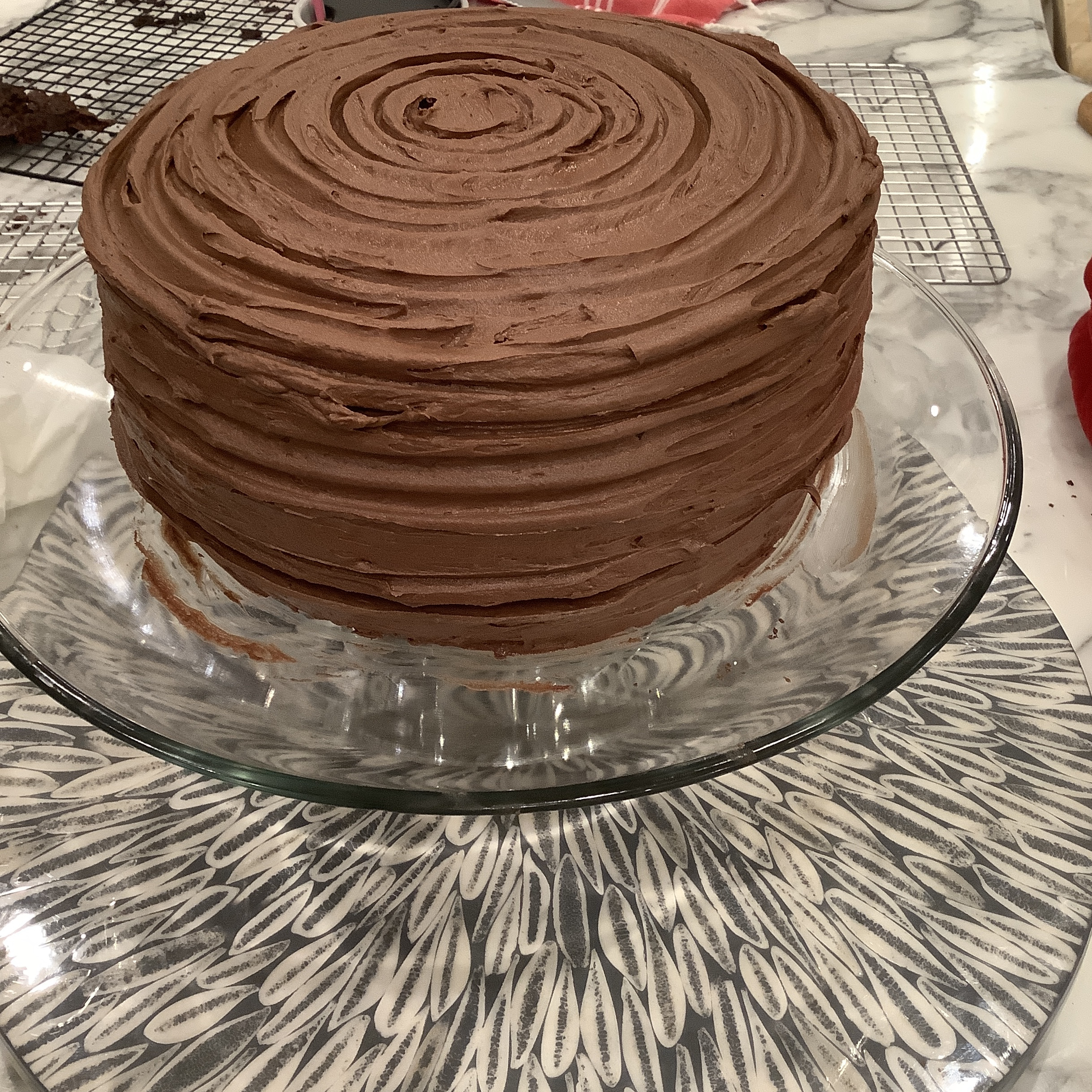 """PERFECTLY CHOCOLATE"" Chocolate Cake"