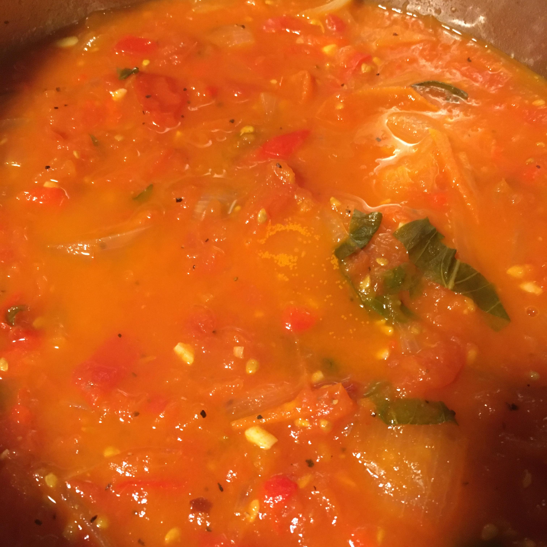 Fresh Tomato Basil Sauce Eaf78
