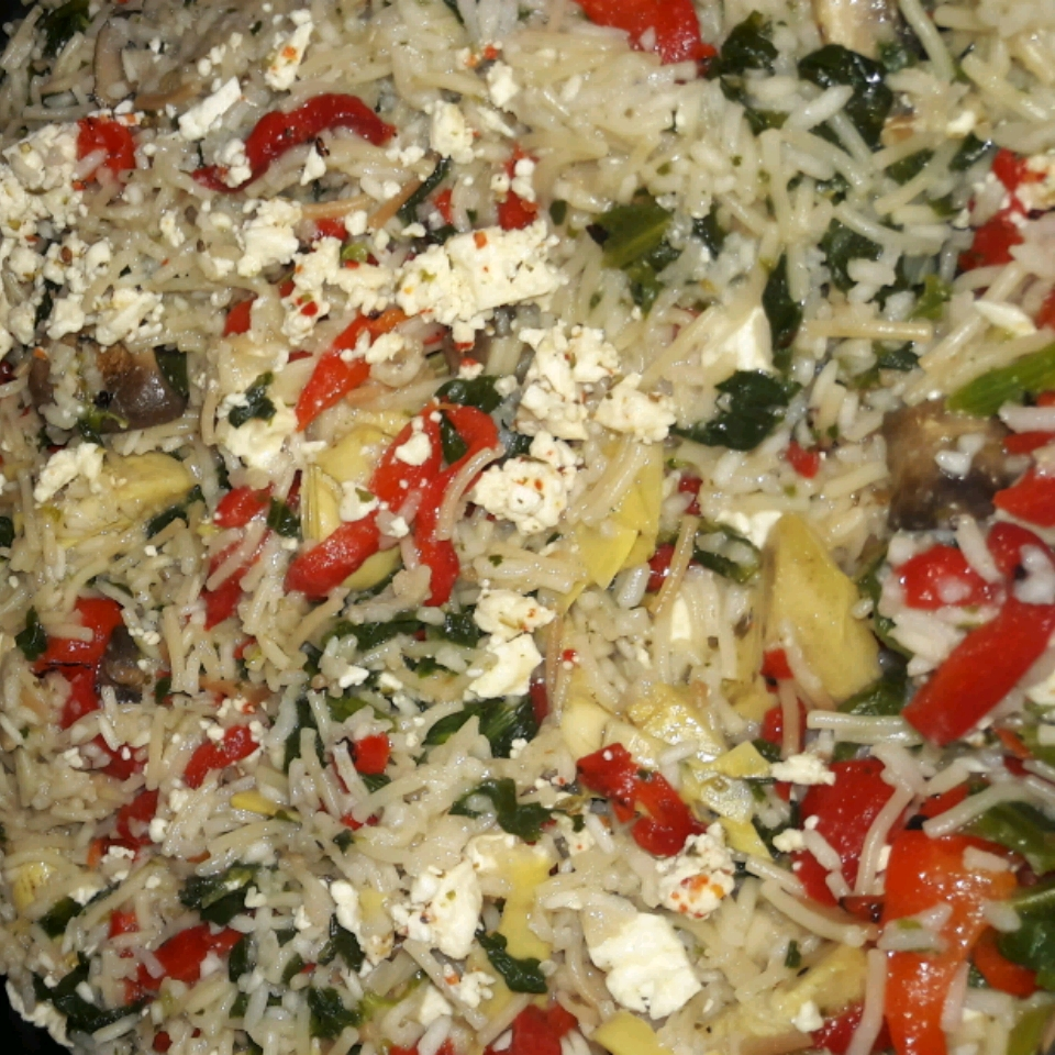 Mediterranean Fried Rice
