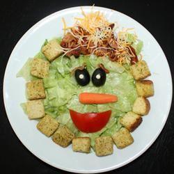 Smiley Salad sanzoe