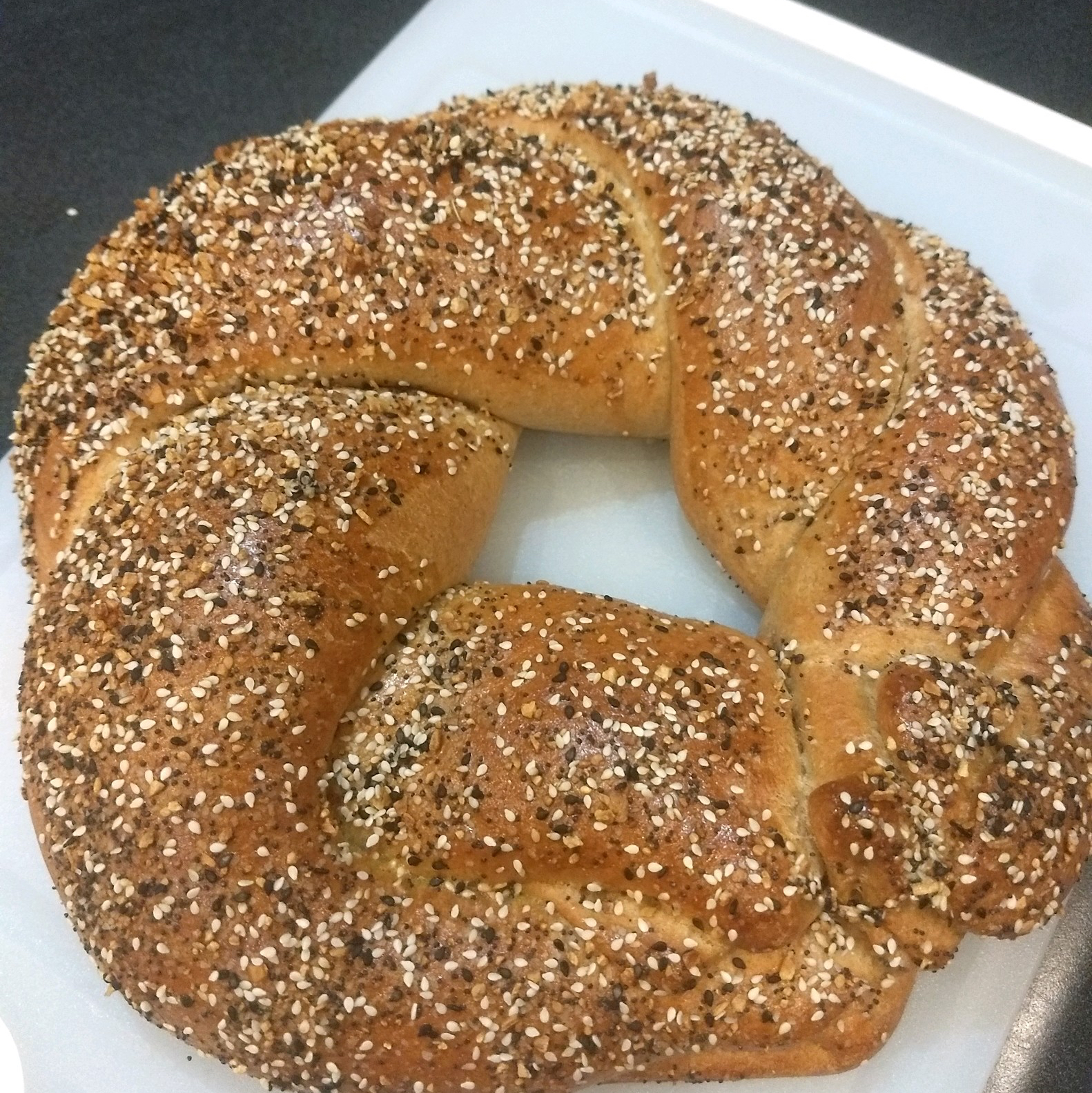 Onion Poppy Seed Ring