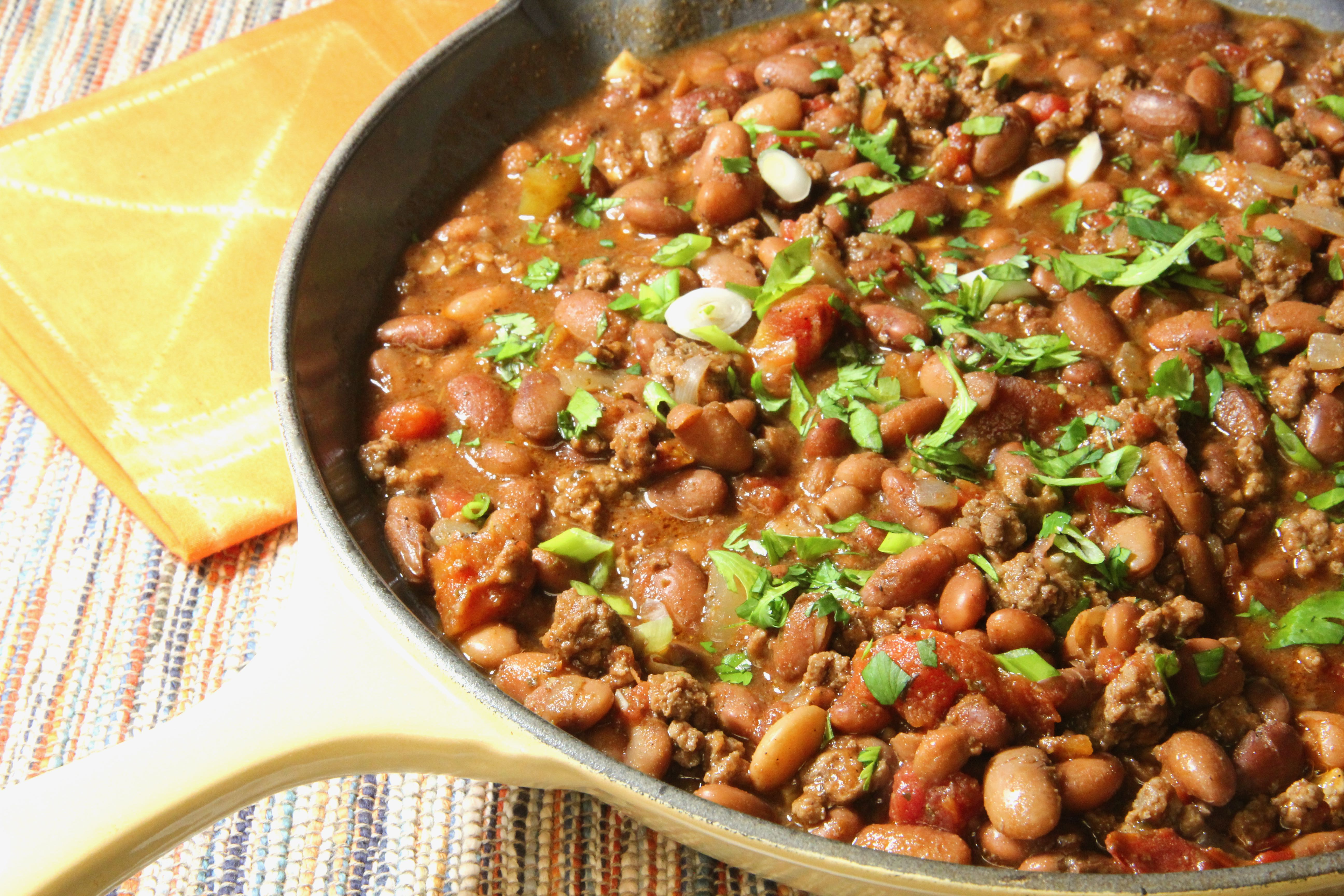 Pinto Bean and Beef Stew