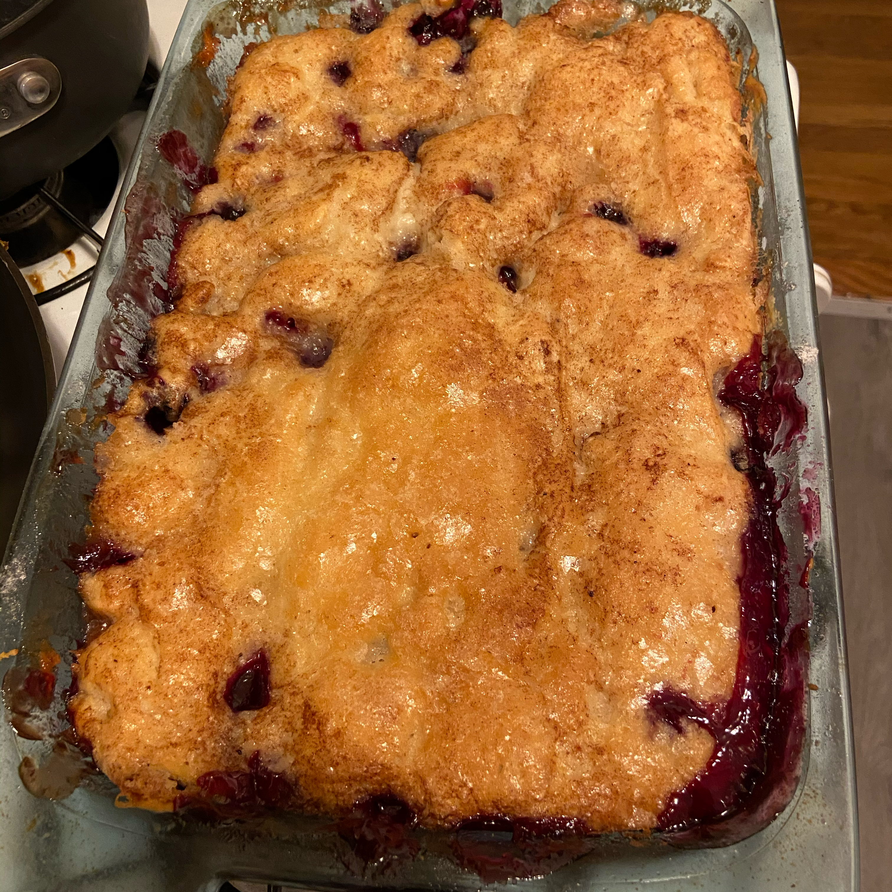 Yummy Blueberry Cobbler