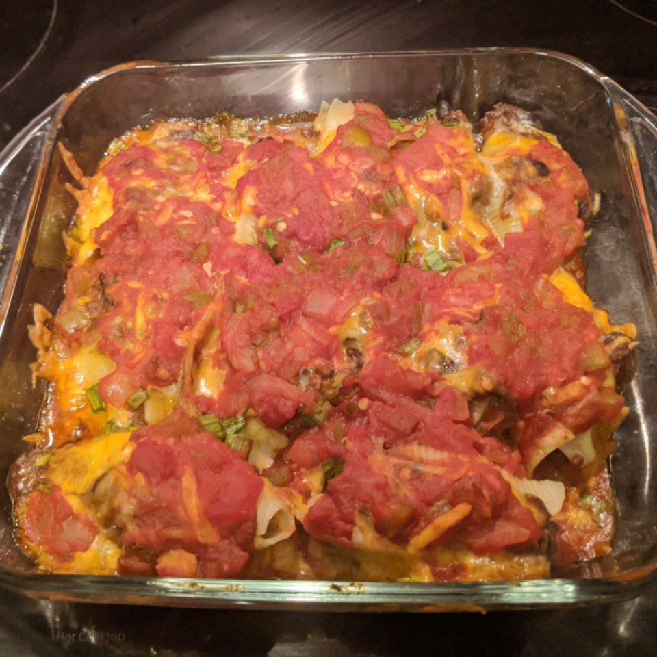 Mexican Stuffed Shells with Turkey