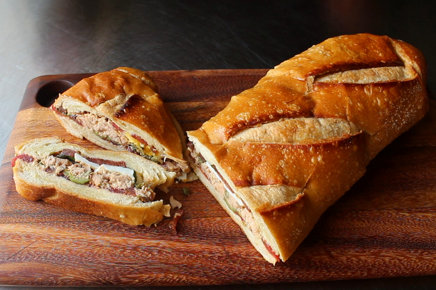 Pan Bagnat (Pressed French Tuna Sandwich)